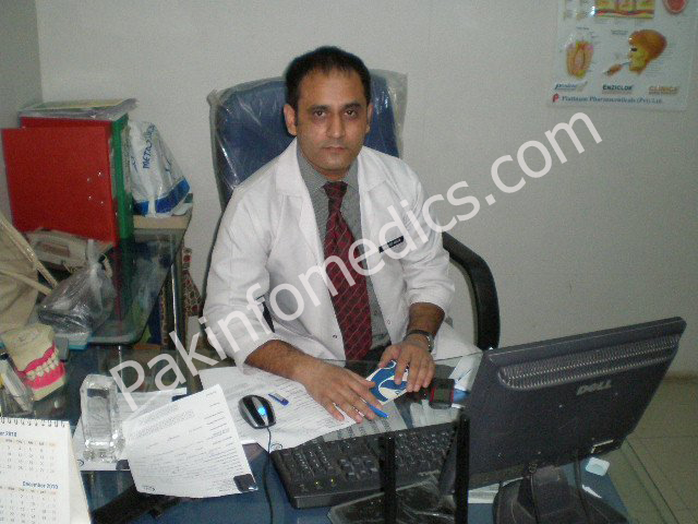 Dr Javed Aslam in Clinic
